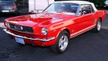 Ford Mustang Cabriolet 1966 7-8 AVG Capote