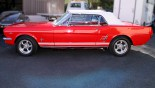 Ford Mustang Cabriolet 1966 profil G Capote