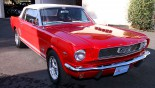 Ford Mustang Cabriolet 1966 3-4 AVD Capote