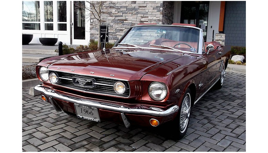 FORD MUSTANG 1966 CAB