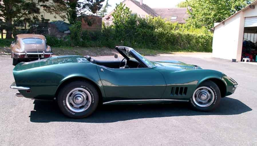 voiture de collection chevrolet corvette 1968  u00e0 vendre