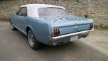 Ford Mustang Cab GT 1966 3_4 ARG + capote