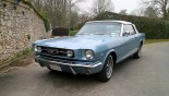 Ford Mustang Cab GT 1966 3_4 AVG + capote