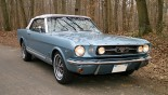 Ford Mustang Cab GT 1966 3_4 AVD + capote