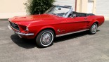 Ford Mustang Cabriolet 1967 vue ext 2