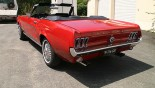 Ford Mustang Cabriolet 1967 vue ext 7