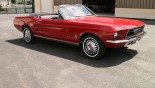 Ford Mustang Cabriolet 1967 vue ext 9