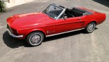 Ford Mustang Cabriolet 1967 vue ext 17