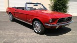 Ford Mustang Cabriolet 1967 vue ext 21