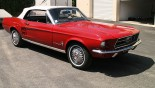 Ford Mustang Cabriolet 1967 vue ext 30