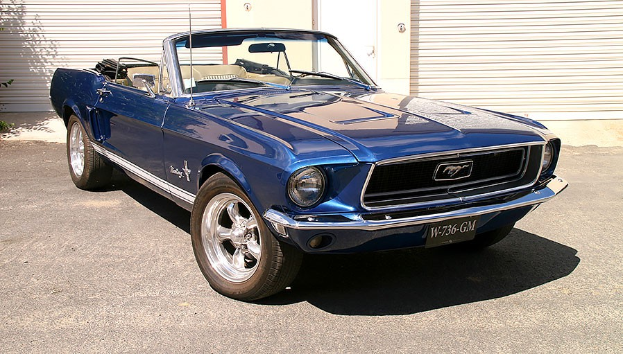 ford mustang cabriolet 1968 vendre. Black Bedroom Furniture Sets. Home Design Ideas