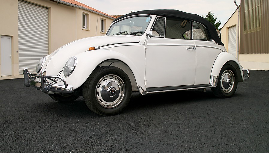 vw coccinelle cabriolet 1966 vendre occasion annonce. Black Bedroom Furniture Sets. Home Design Ideas