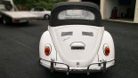 VW Coccinelle Cabriolet 1966 Face AR
