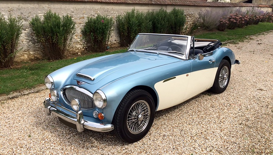 voiture de collection austin healey 3000 mk3 1965 vendre. Black Bedroom Furniture Sets. Home Design Ideas