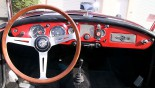 MG A Cabriolet tableau bord