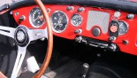 MG A Cabriolet console