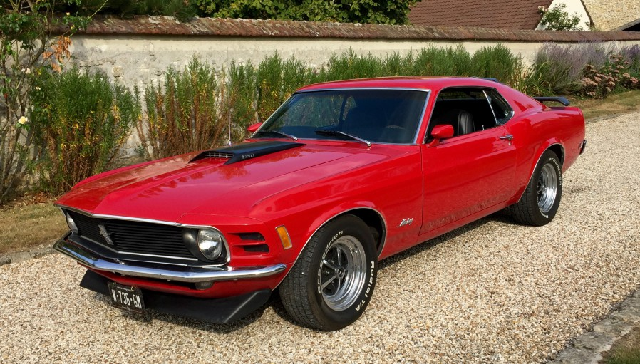 FORD MUSTANG SPORTSROOF 1970