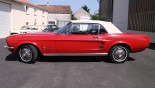Ford Mustang Cabriolet 1967 profil G
