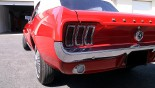 Ford Mustang Cabriolet 1967 feux AR