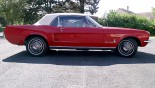 Ford Mustang Cabriolet 1967 profil D