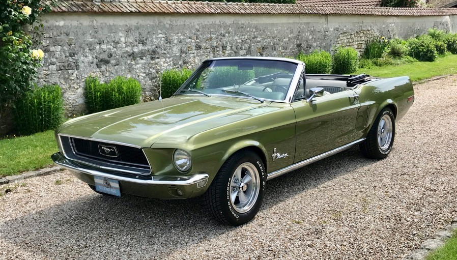FORD MUSTANG 1968 CABRIOLET