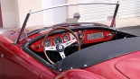 MG A Cabriolet vue tableau AR