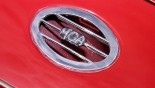 MG A Cabriolet grille MGA