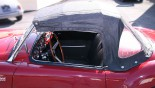 MG A Cabriolet capote profil G
