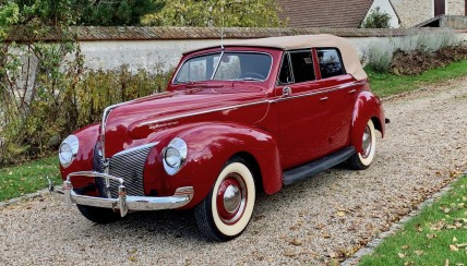 MERCURY CONVERTIBLE 1940